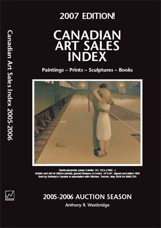 Canadian Art Sales Index 2007 Edition